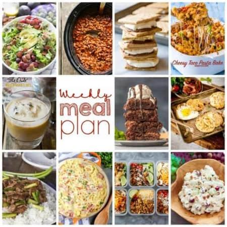 Easy Meal Plan Week 117
