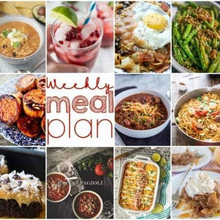 Easy Meal Plan Week 121