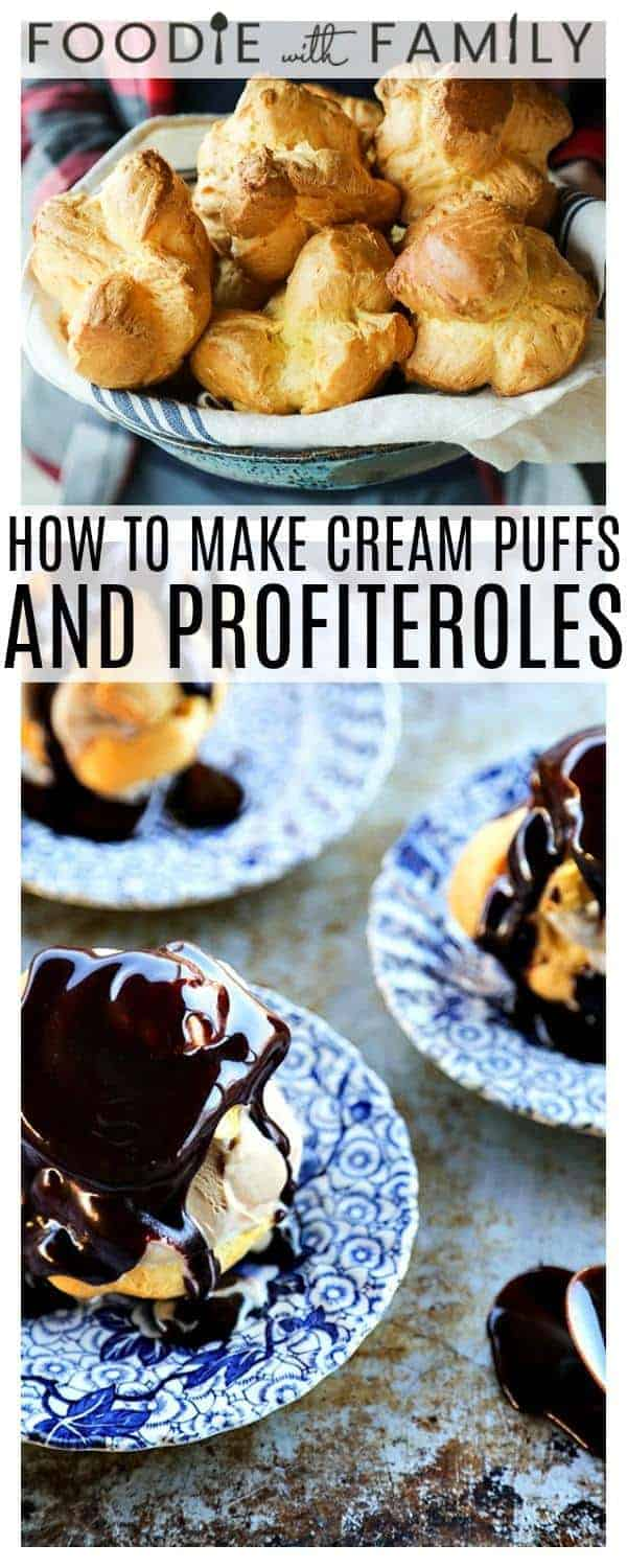 Homemade Cream Puffs: Impossibly light and airy, but totally simple to make!