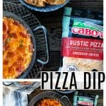 Pizza Dip a.k.a. crustless pizza