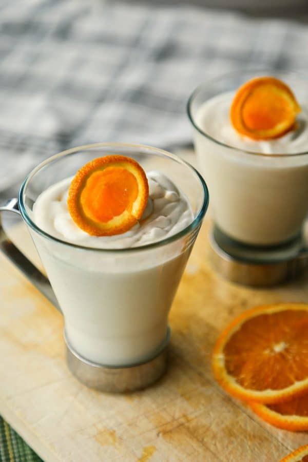 Creamy Orange Mousse from foodiewithfamily.com #sponsored