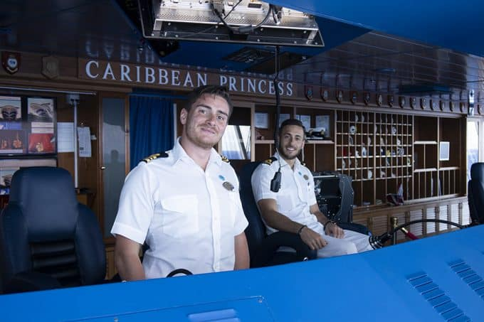 Princess Cruises Caribbean Princess March 2019 Bridge tour