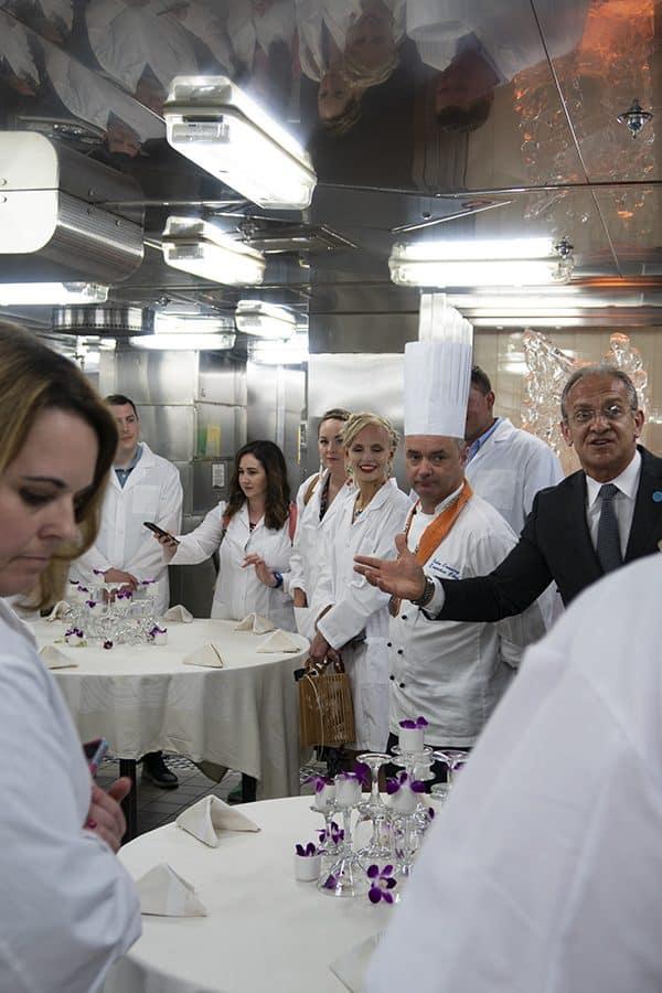 Princess Cruises Caribbean Princess March 2019 Chef's Table