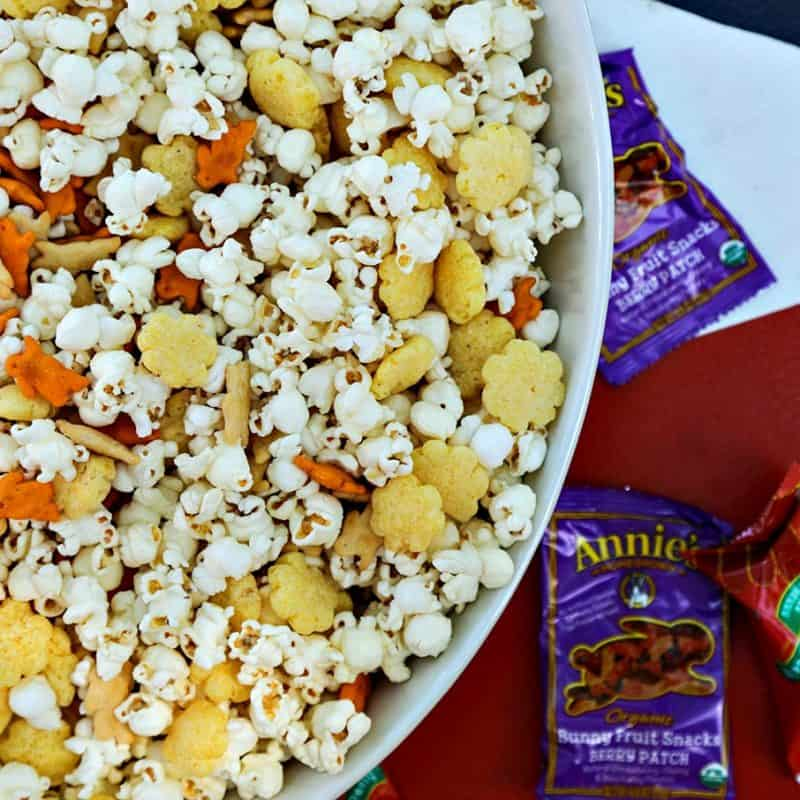 Ultimate Cheddar Lover's Popcorn Snack Mix