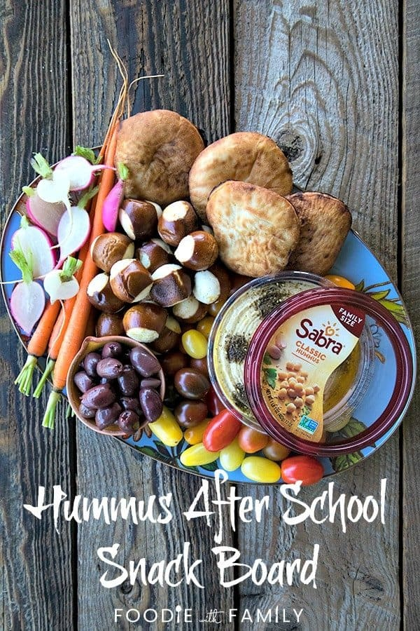 Make the ultimate Hummus After School Snack Board using the 3, 2, 1 Rule and your favourite hummus. Find out how to create a nutritious, delicious, irresistible snack out of what you have on hand with this simple rule!This is easily customized to suit personal preferences or dietary needs!