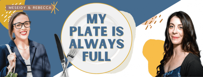 My Plate Is Always Full promotional photo with Meseidy and Rebecca