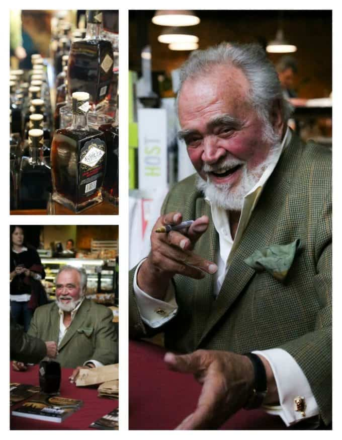Herb Kohler at Dark Chocolate Brandy Signing