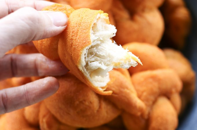 Buffalo Garlic Knots
