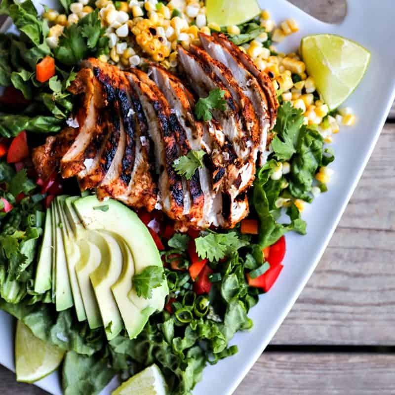 Spicy Southwestern Chicken Salad + Meal Prep